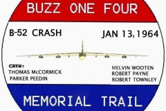 Final Buzz One Four RWB sign