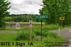 Site 1 Sign 1A