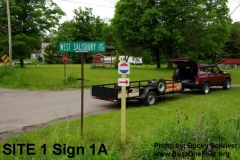 Site 1 Sign 1A_