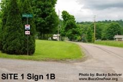 Site 1 Sign 1B